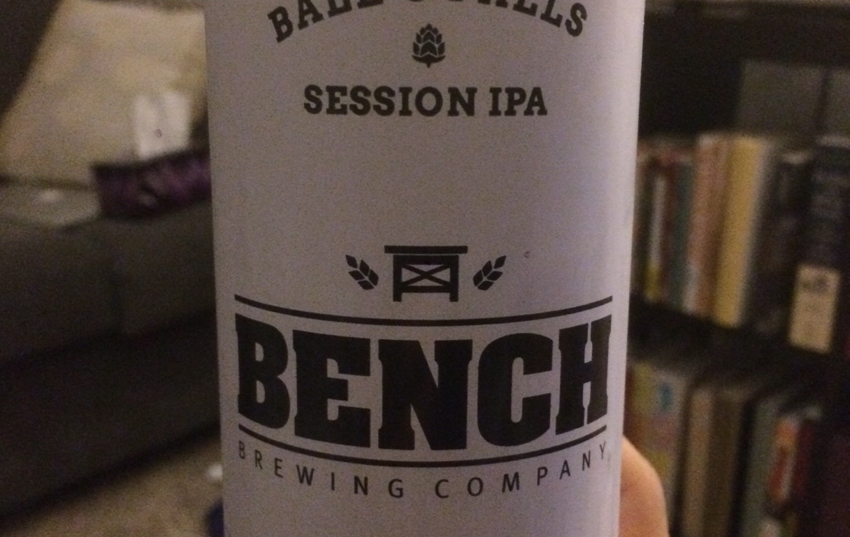 Bench brewing company ball s falls session ipa the for Bench craft company fraudsters