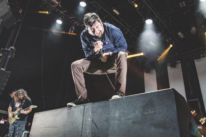 Deftones at Budweiser Stage in Toronto